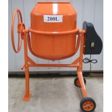 200L Mini Concrete Mixer